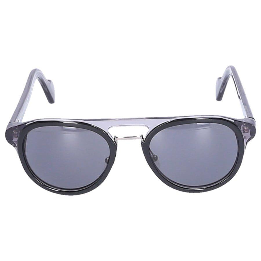 best sneakers da2fa a3243 Moncler Sonnenbrille Aviator 0020 05A Acetat grau