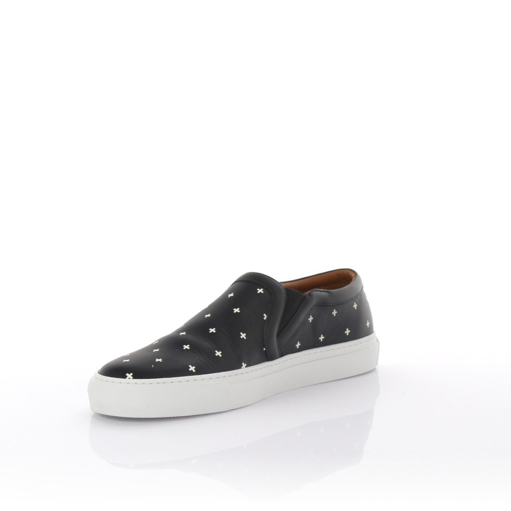 Givenchy Sneakers Slip On Street Skate Leather Black
