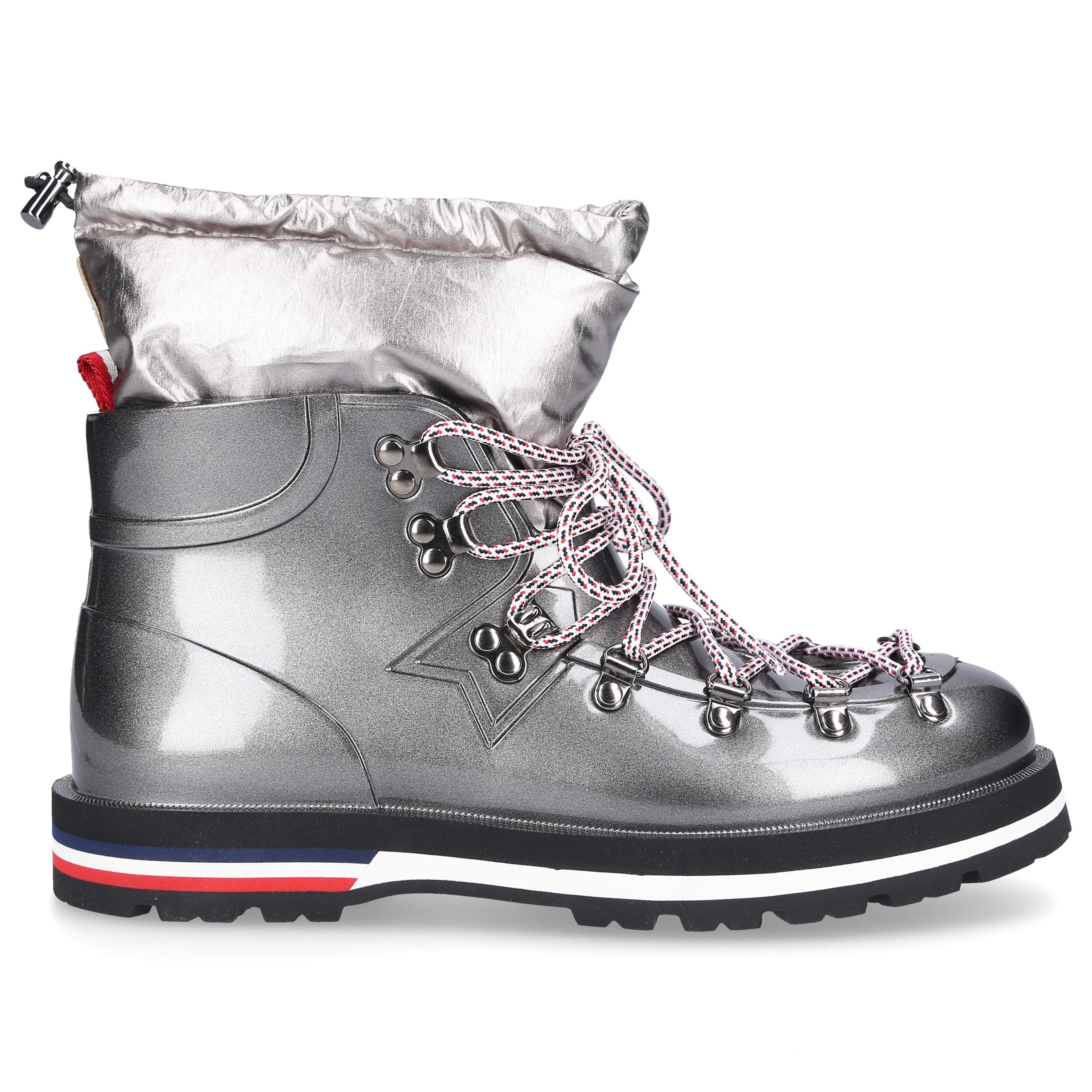 Moncler ANKLE BOOTS INAYA GUM LOGO GREY