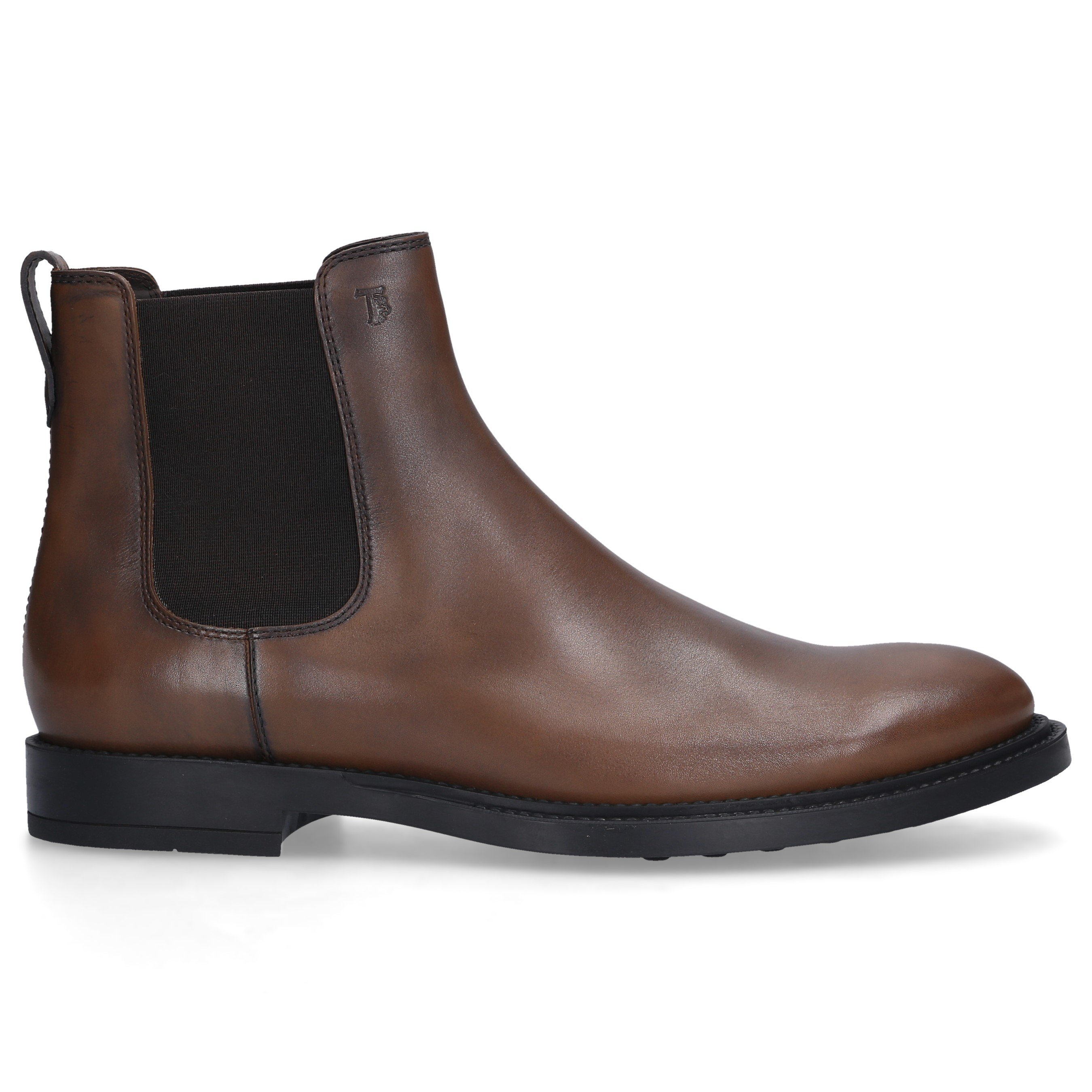Tod's Brown Leather Chelsea Boots