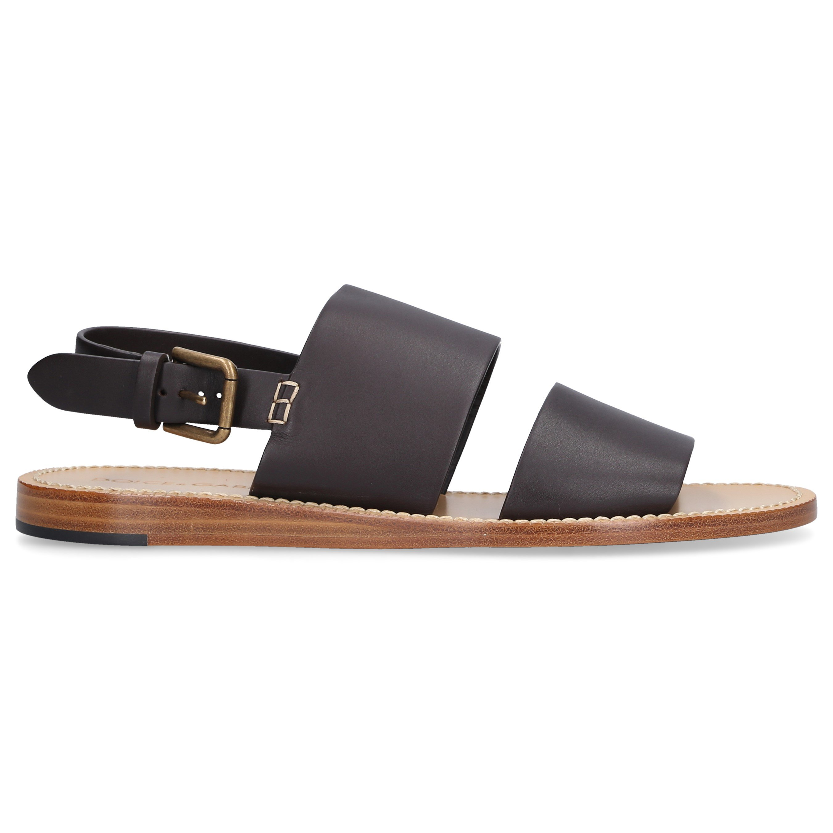 Dolce & Gabbana Leathers MEN SANDALS PANTHENON