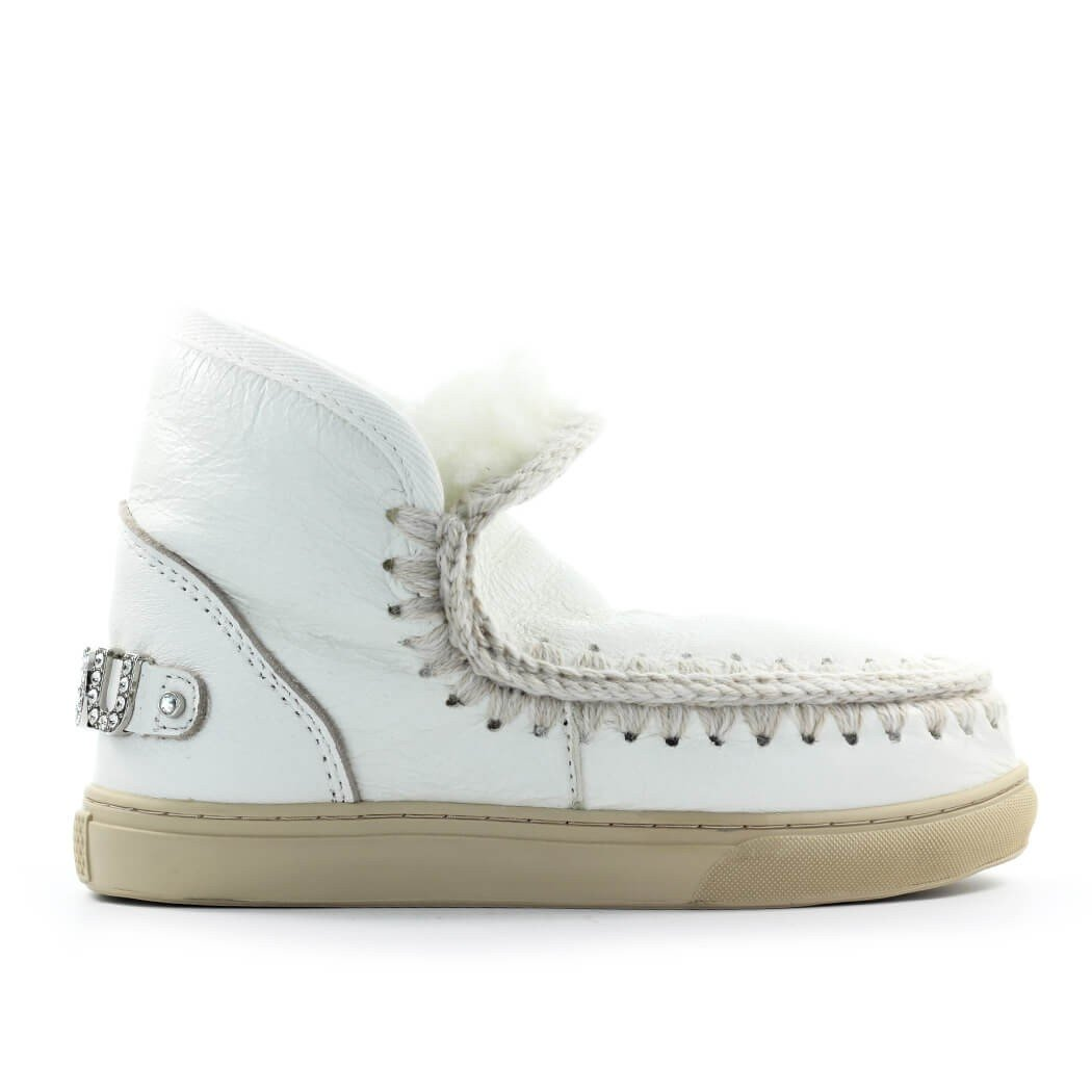 Mou ANKLE BOOTS WHITE FW11