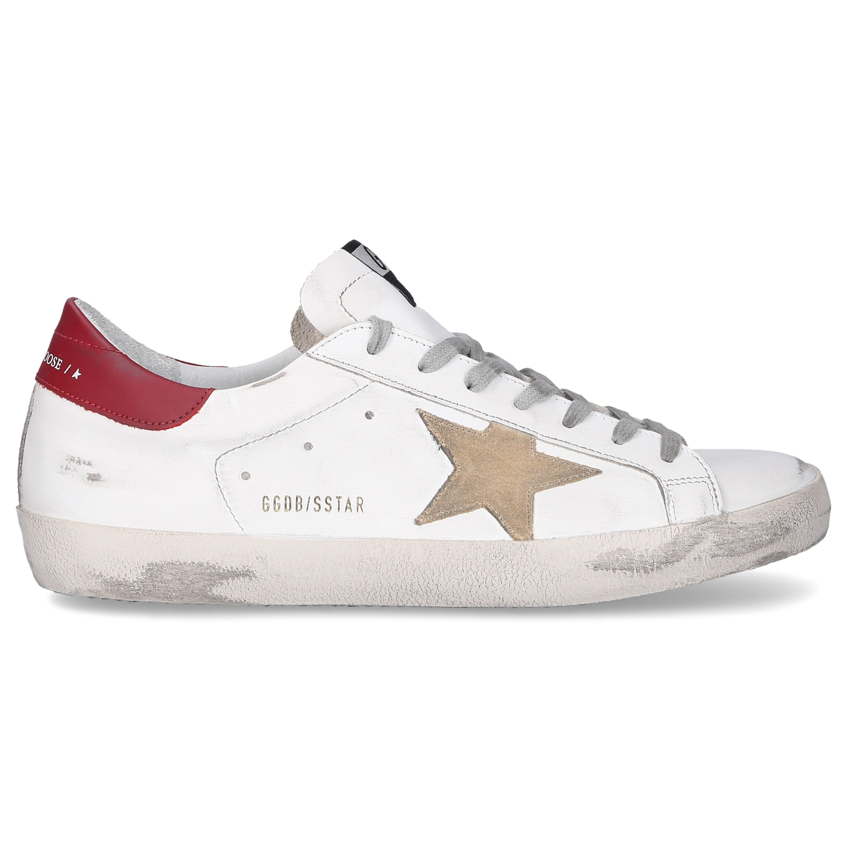 Golden Goose SNEAKERS WHITE SUPERSTAR