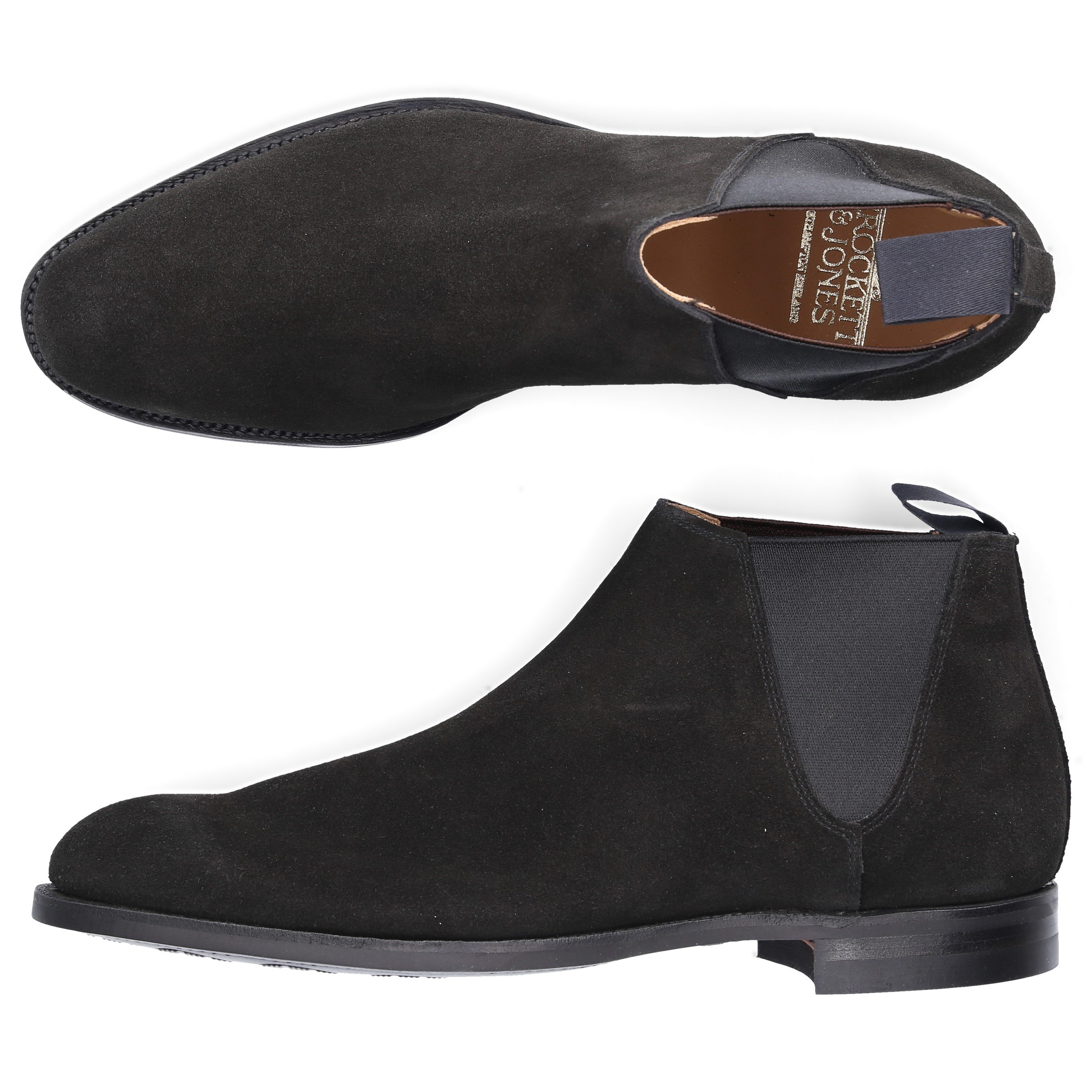 3b95864cd5e Chelsea Boots Cranleigh Suede Black