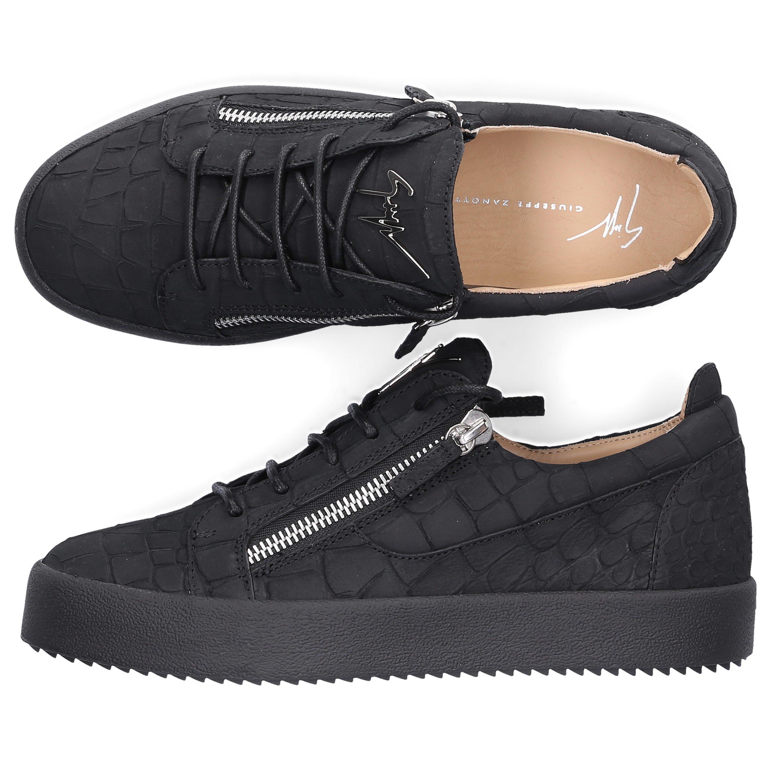 Giuseppe Zanotti Sneakers Black Frankie