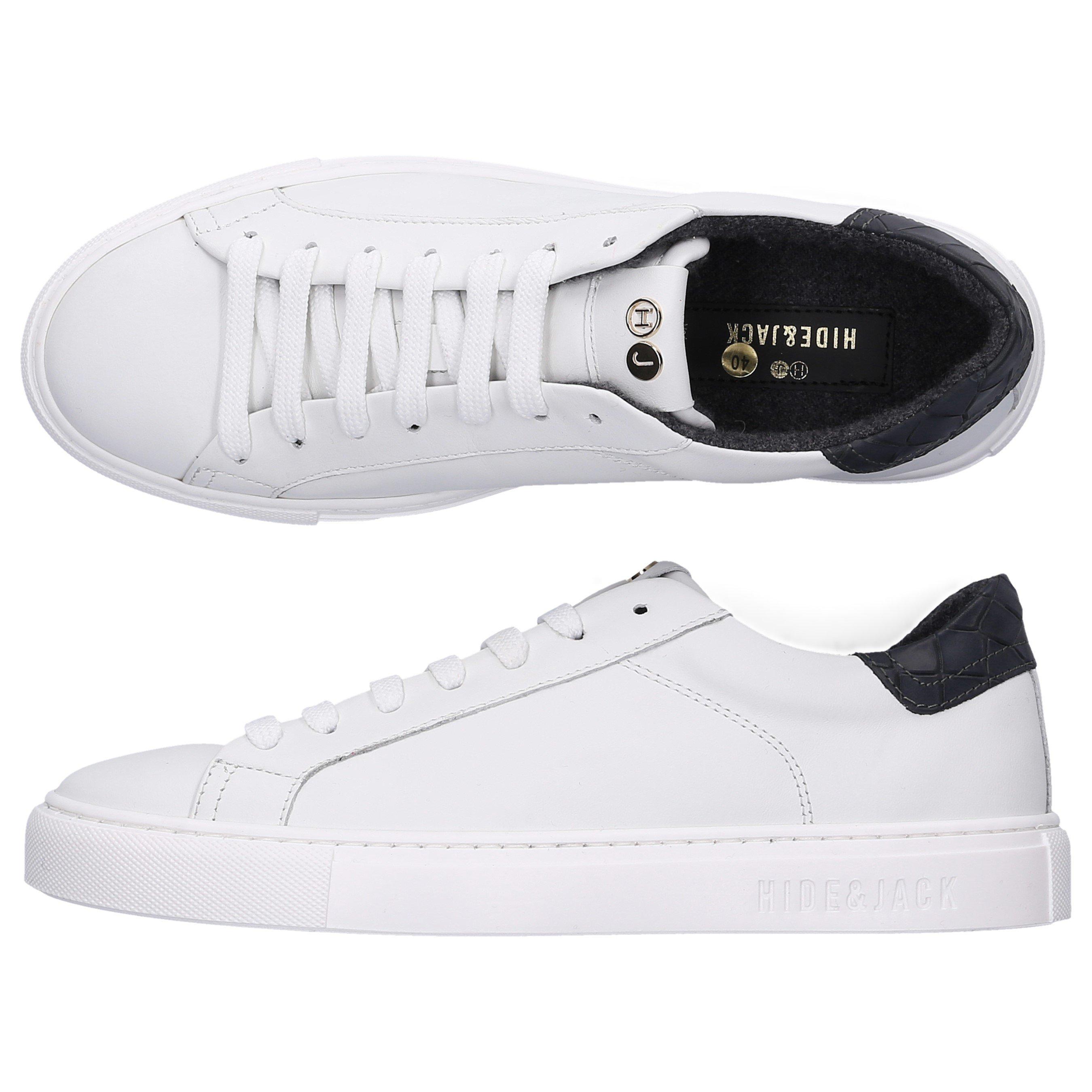 Hide & Jack Low-Top Sneakers Low Top Sneaker In White