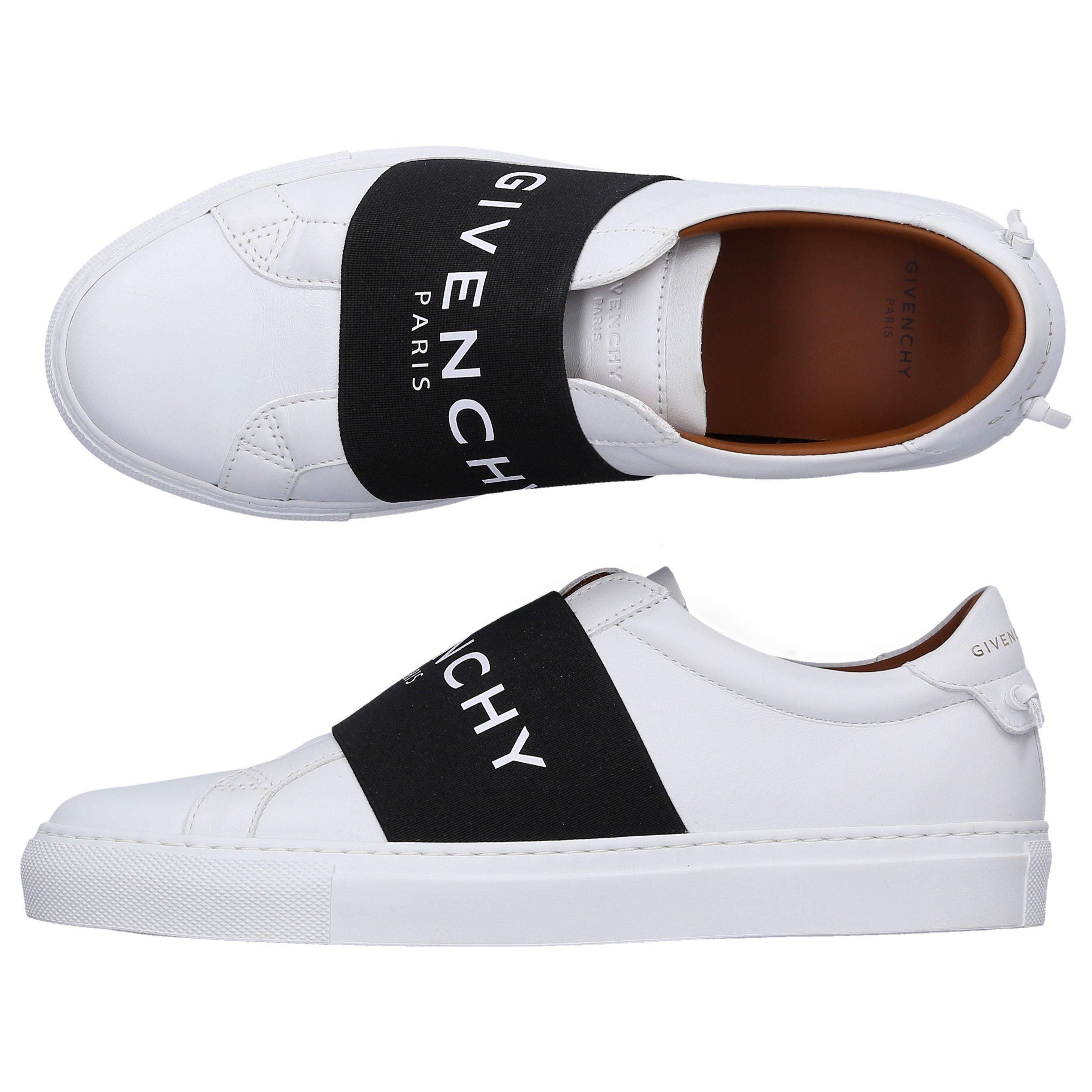 Givenchy Slip-On Urban Street In Black,White
