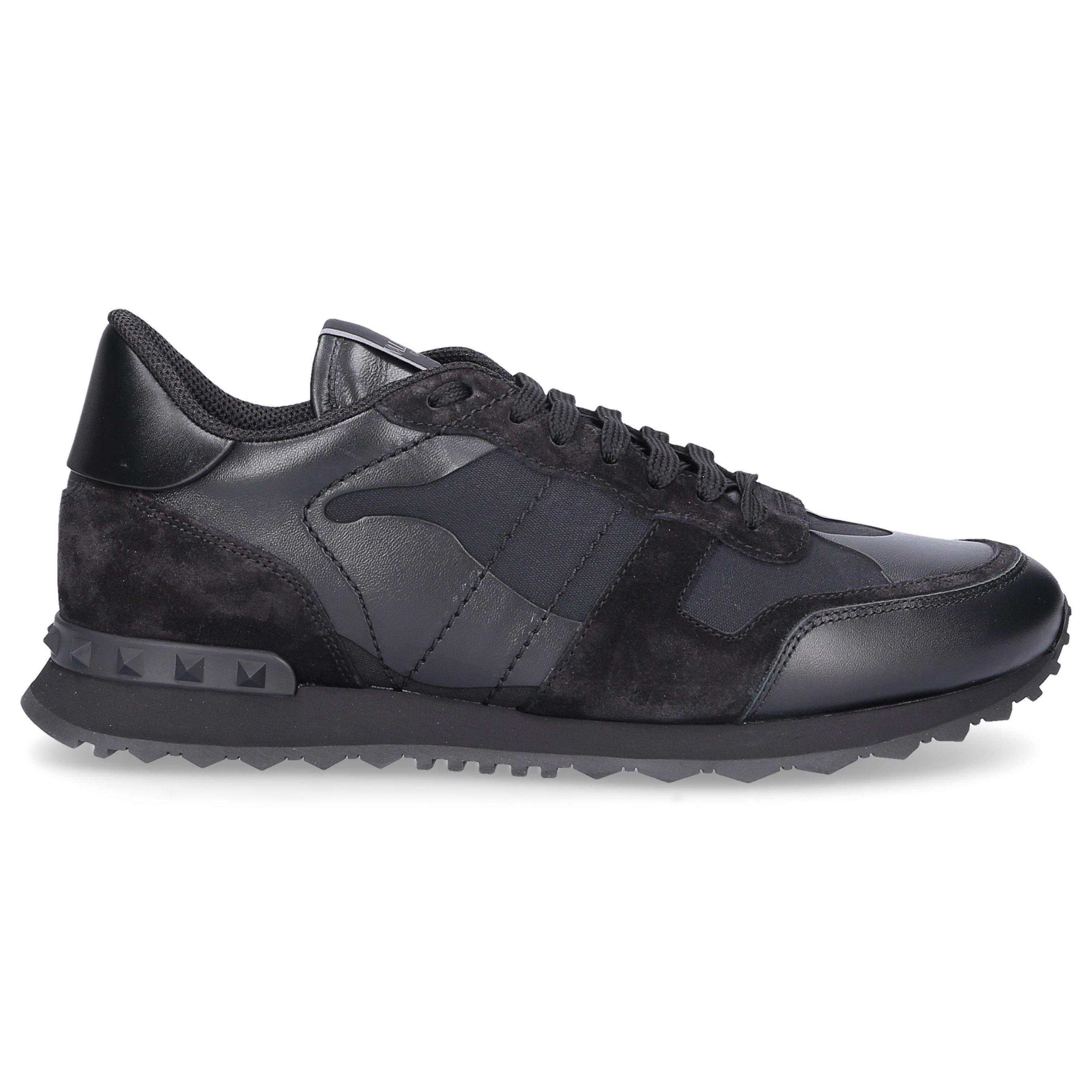 Valentino Sneakers Black Rockruner Camouflage