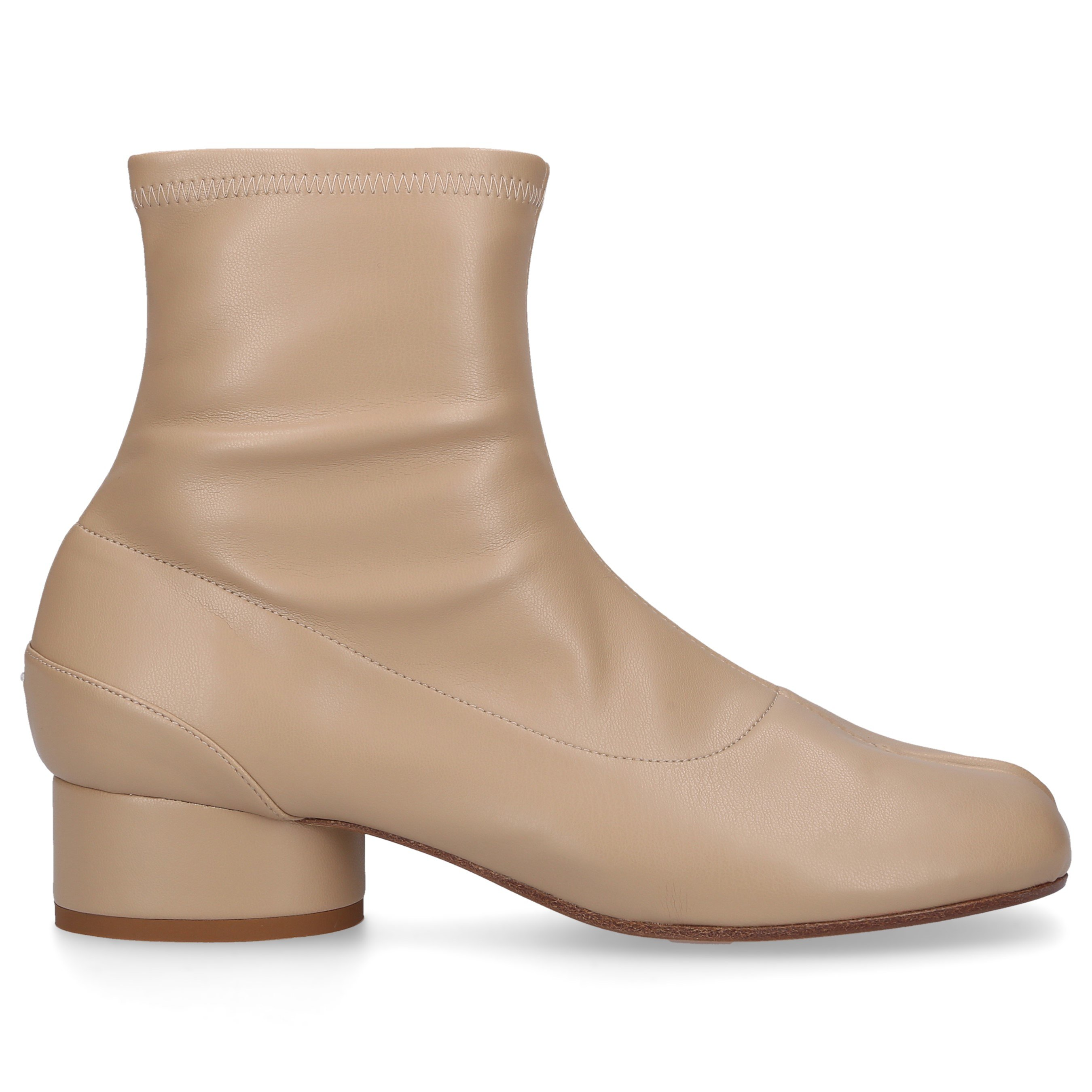 Maison Margiela Wedges ANKLE BOOTS BEIGE TABI