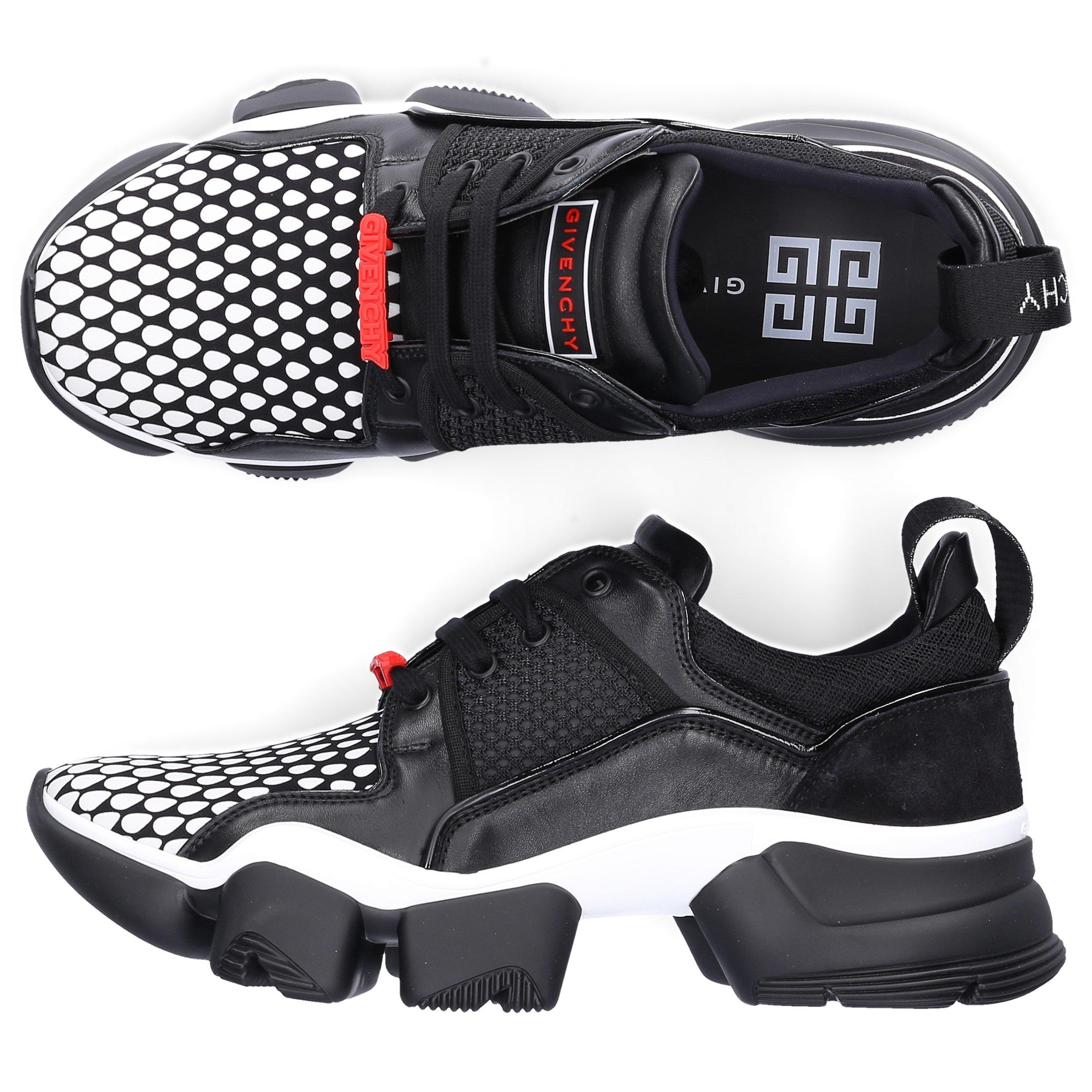 Givenchy Platforms LOW-TOP SNEAKERS JAW SNEAKER  CALFSKIN NEOPRENE LOGO BLACK-COMBO